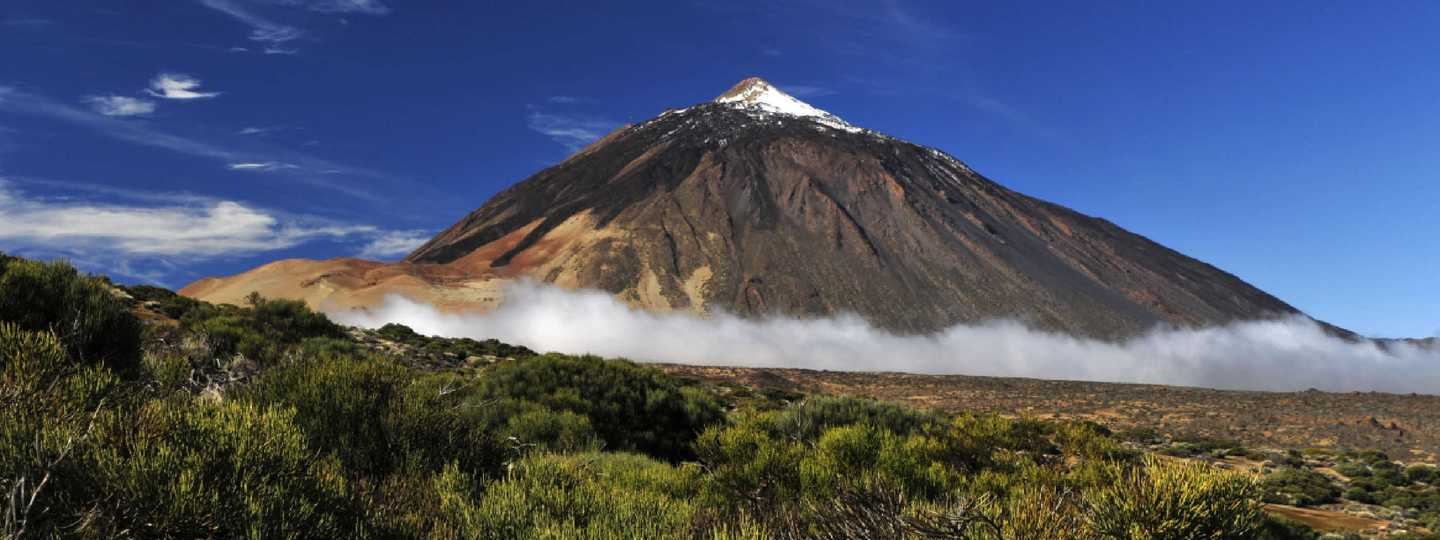 Snow-covered peak of Teide, Tenerife (Shutterstock: see credit below)