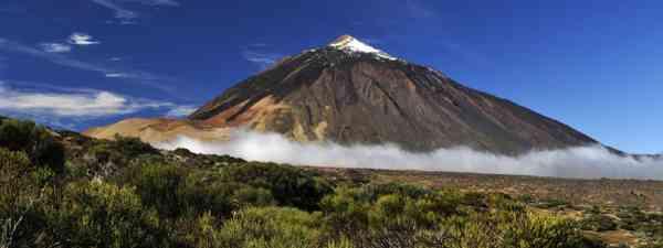 Snow-covered peak of Teide, Tenerife (Shutterstock: see credit below)