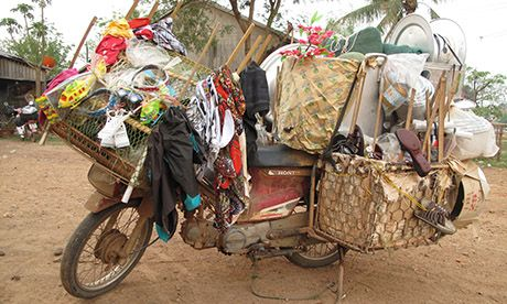 An overloaded moped (Ants Bolingbroke-Kent)