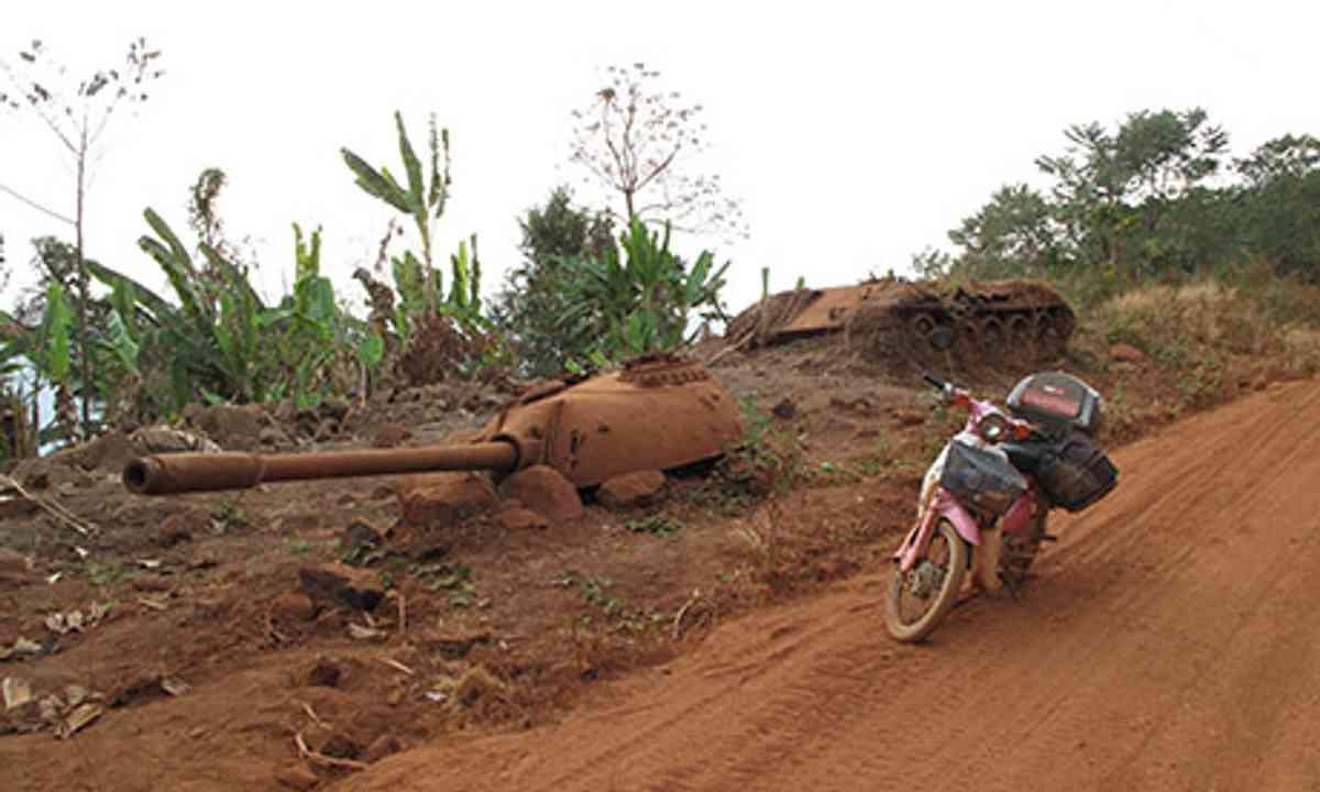 Bike and a tank