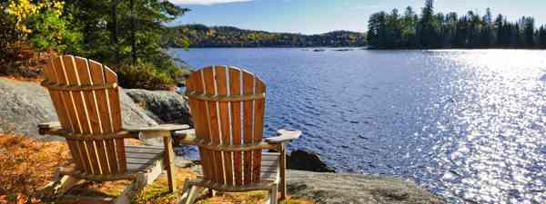 Deckchairs in Muskoka  (Shutterstock.com. See main credit below)