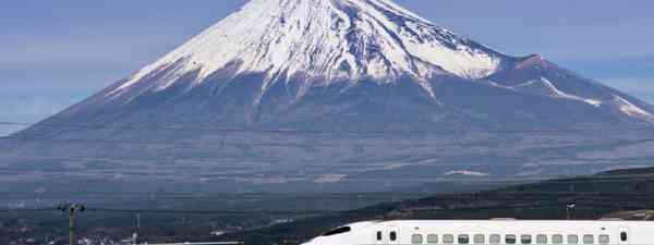 Mt. Fuji in Japan (Shutterstock: see credit below)