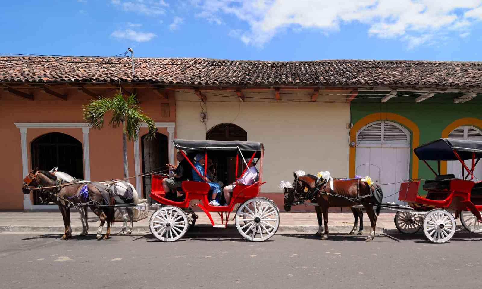 Horse carts in Granada, Nicaragua (Shutterstock)