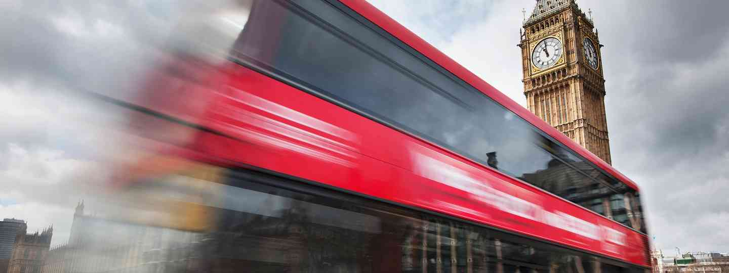 London bus (Shutterstock.com. Provided by PlanetPass)