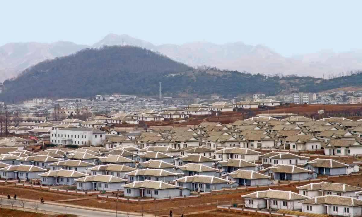 Village in North Korea (Shutterstock)