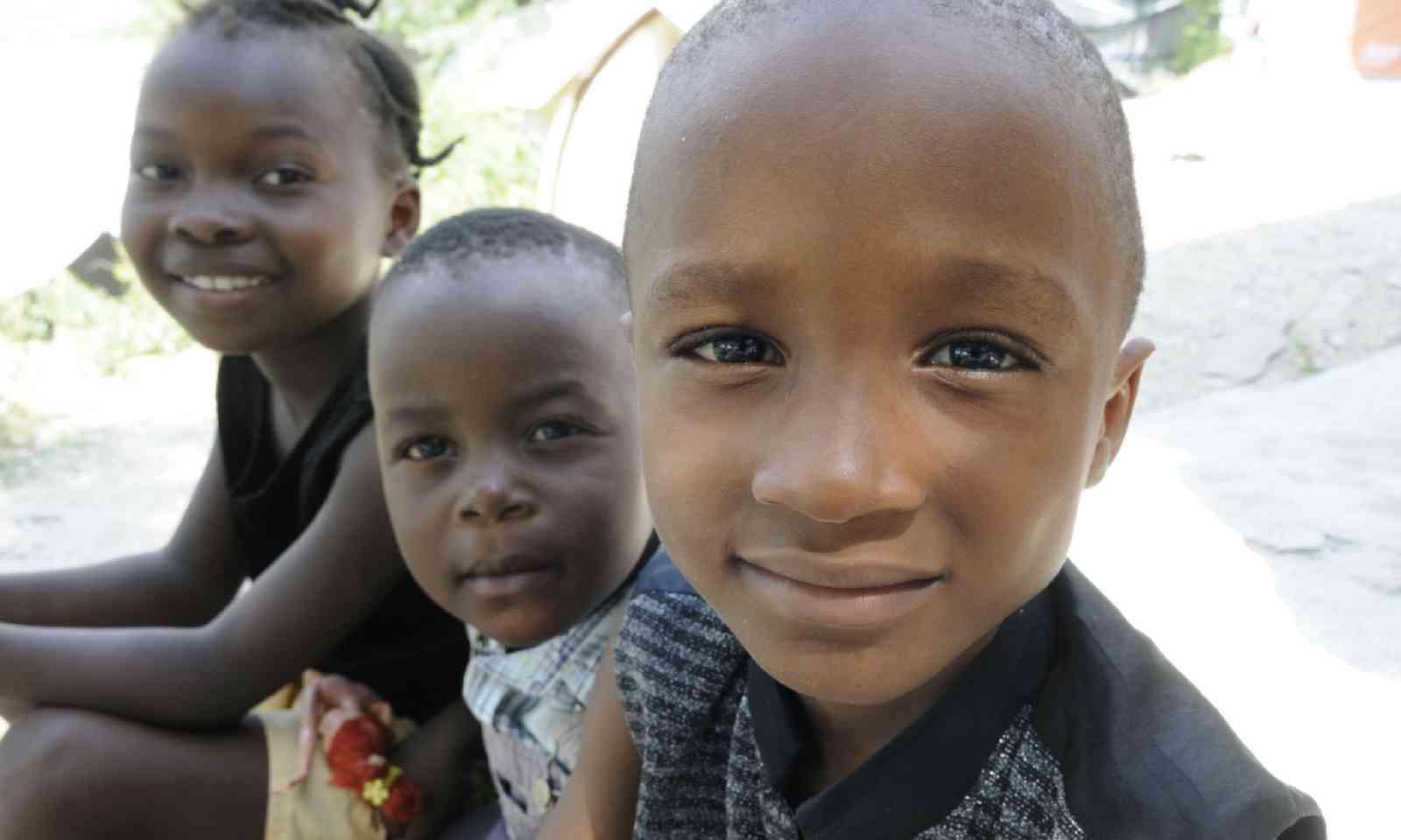 Kids in Port-au-Prince (Shutterstock)