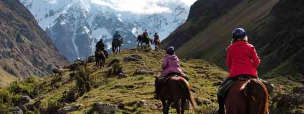 Horse riding on the Salkantay Trek (Simon Chubb)