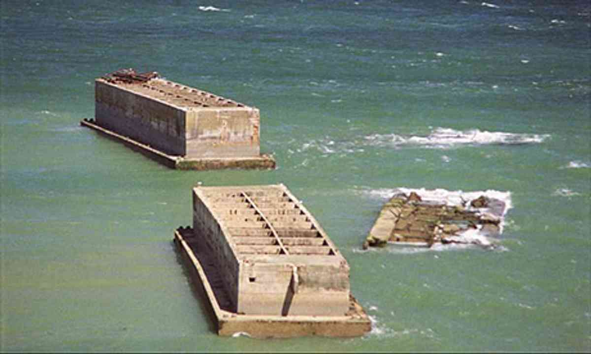 Mulberry Harbour (Wiki Images)