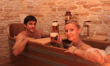 Beer bath (Chodová Planá)