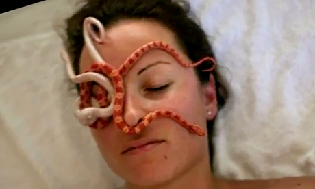 Snake massage (Ada Barak)