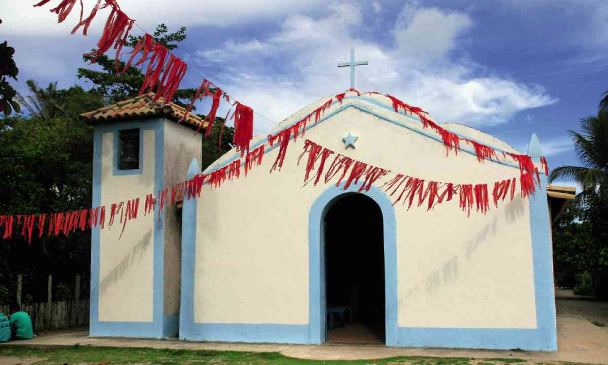 Caraíva's old Catholic church (Nick Boulos)