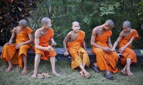 Laotian Monks (Wanderlust)