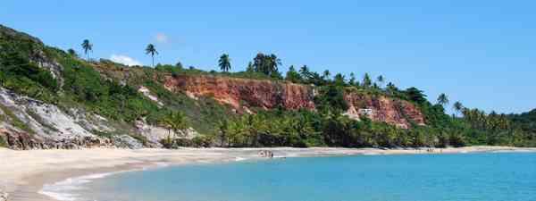 Caraiva beach, in Bahia (Shutterstock: see credit below)
