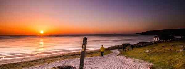 Sunset at Sennen Cove (Chris Orange / Remote Britain)