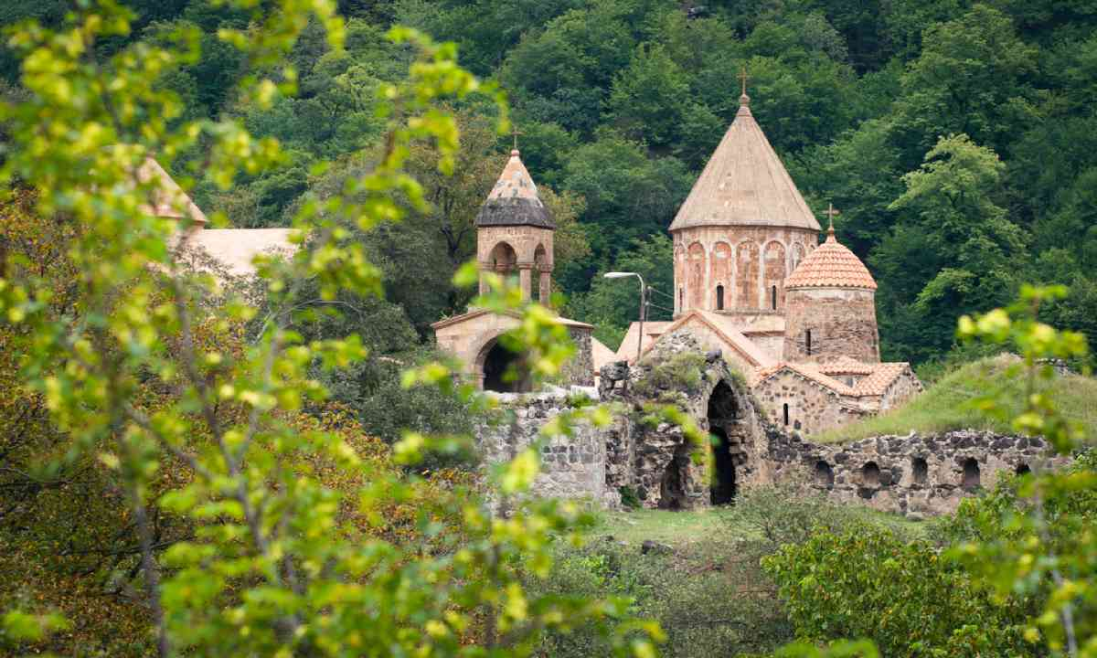 The monastery of Dadivank, Nagorno-Karabakh Republic (Shutterstock)