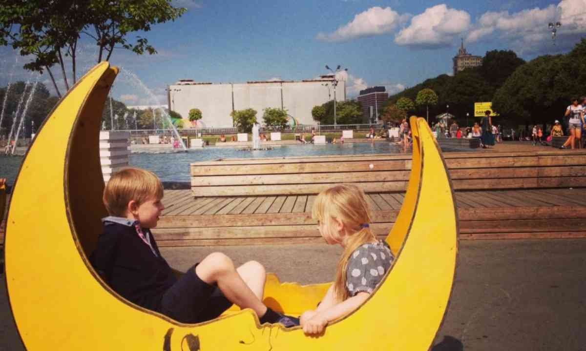 Hanging out in Gorky Park (Dreamstime)