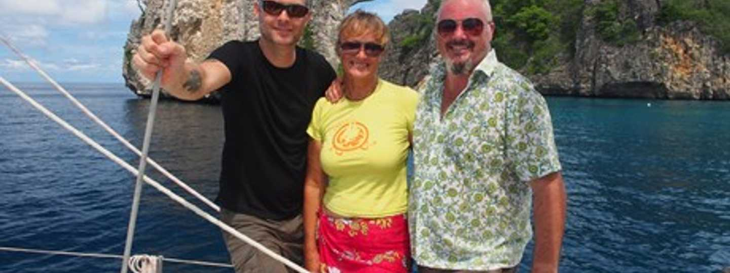 Jamie, Liz and American in Thailand