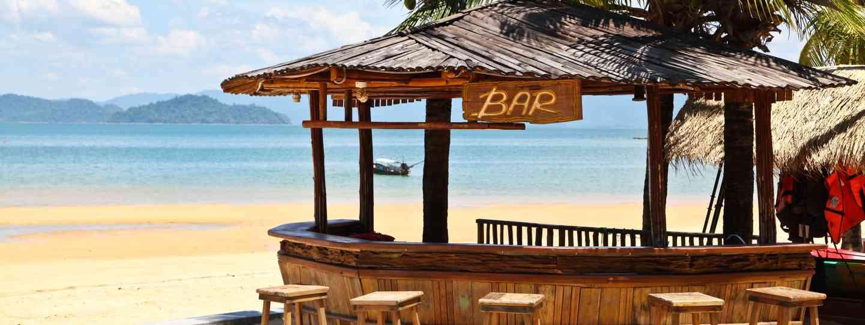 Beach Bar on Koh Phayam (Dreamstime)
