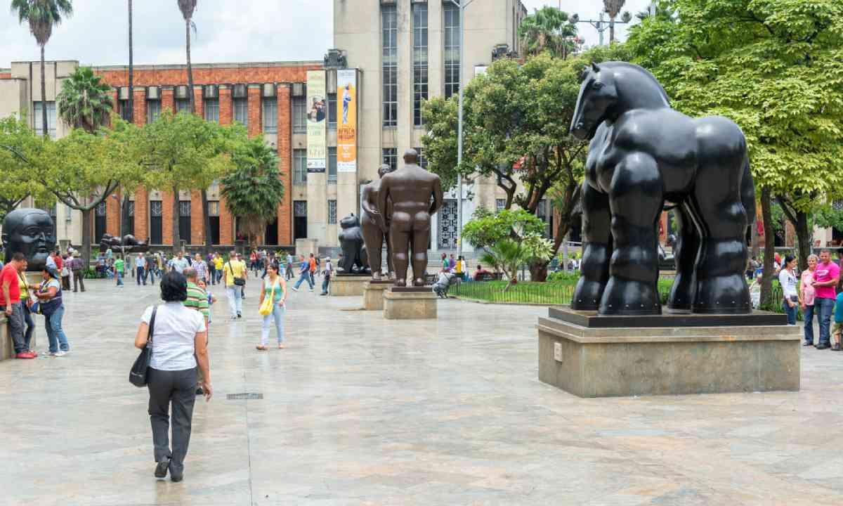 Botero Plaza (Shutterstock)