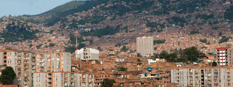 Cityscape of Medellin (Shutterstock: see credit below)