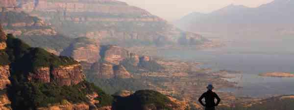 Gazing over Malshej Ghat (David Abram)