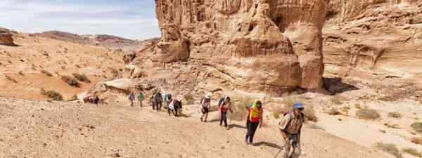 Desert stretch between Wadi Gseib to Wadi Aheimar (Nadir Daoud)
