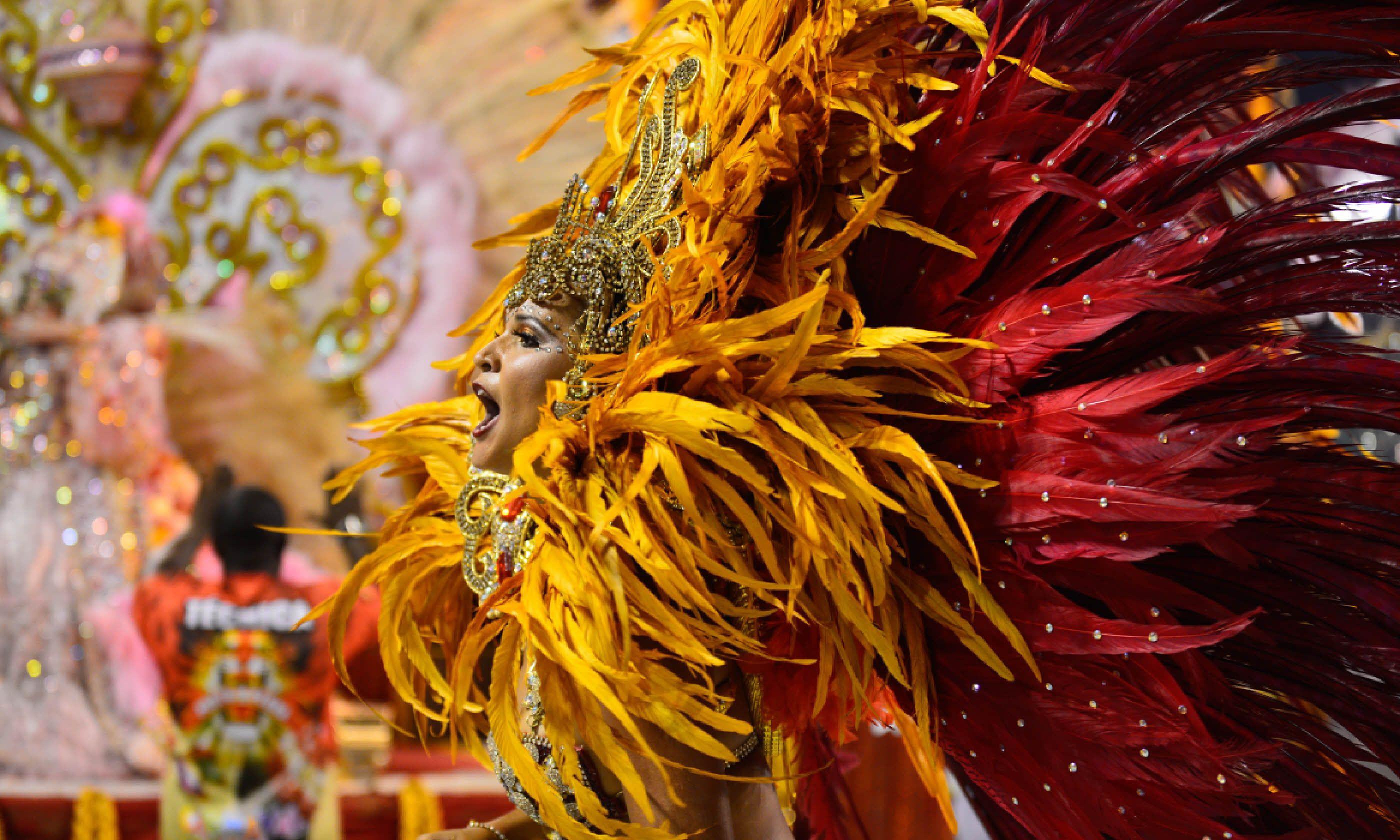 Rio de Janeiro Carnival, Brazil (Shutterstock)