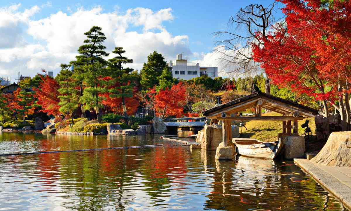 Fall foliage in Nagoya, Japan (Shutterstock)