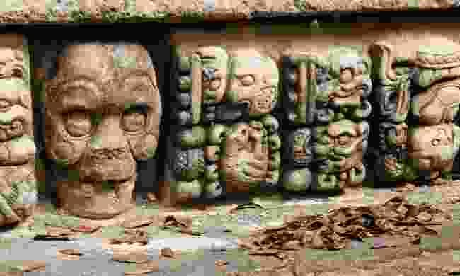 Mayan ruins in Copán (Dreamstime)