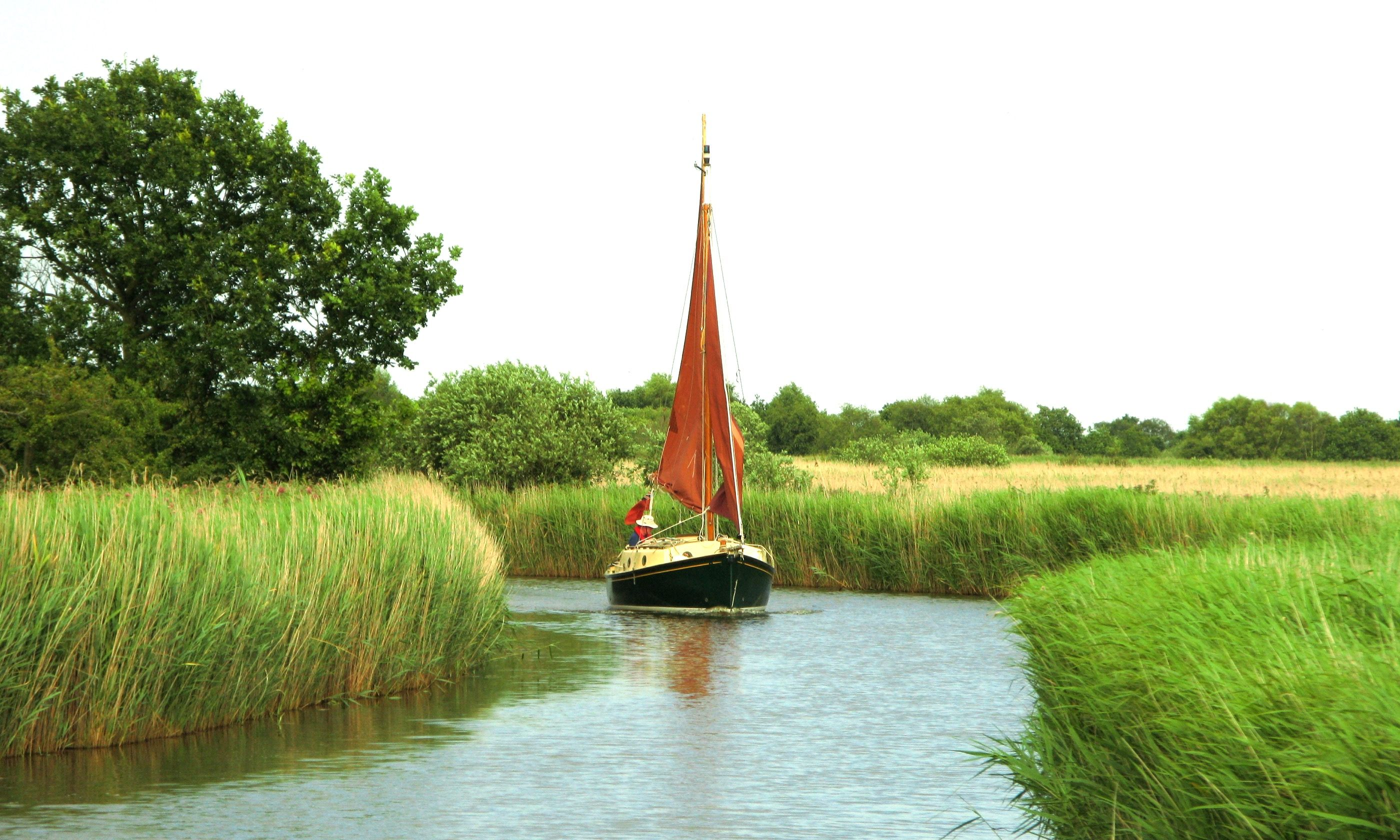 Navigating the Norfolk Broads (Dreamstime)