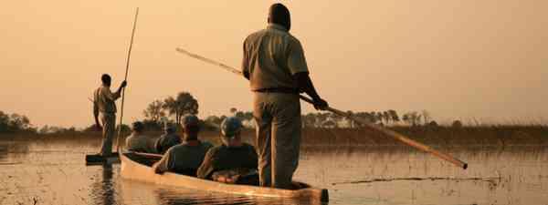 The Okavango Delta, Botswana (Shutterstock: see credit below)