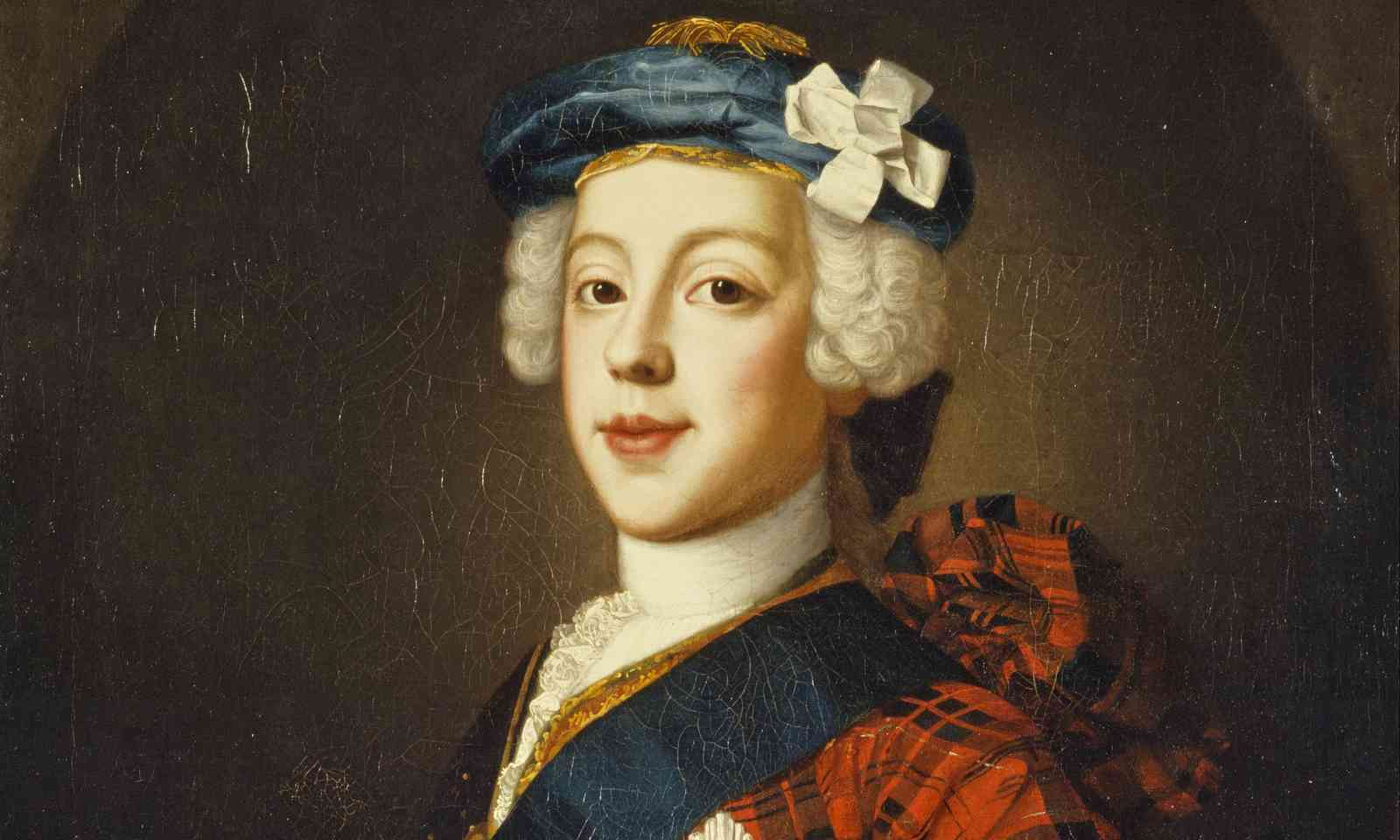 Bonnie Prince Charles by William Mosman, around 1700 (Public Domain)