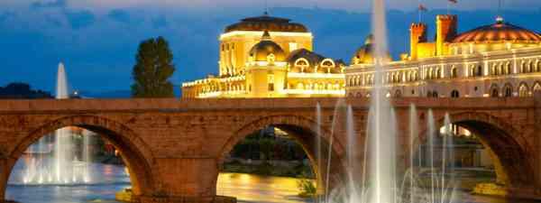 Macedonian's capital city Skopje (Shutterstock: see credit below)