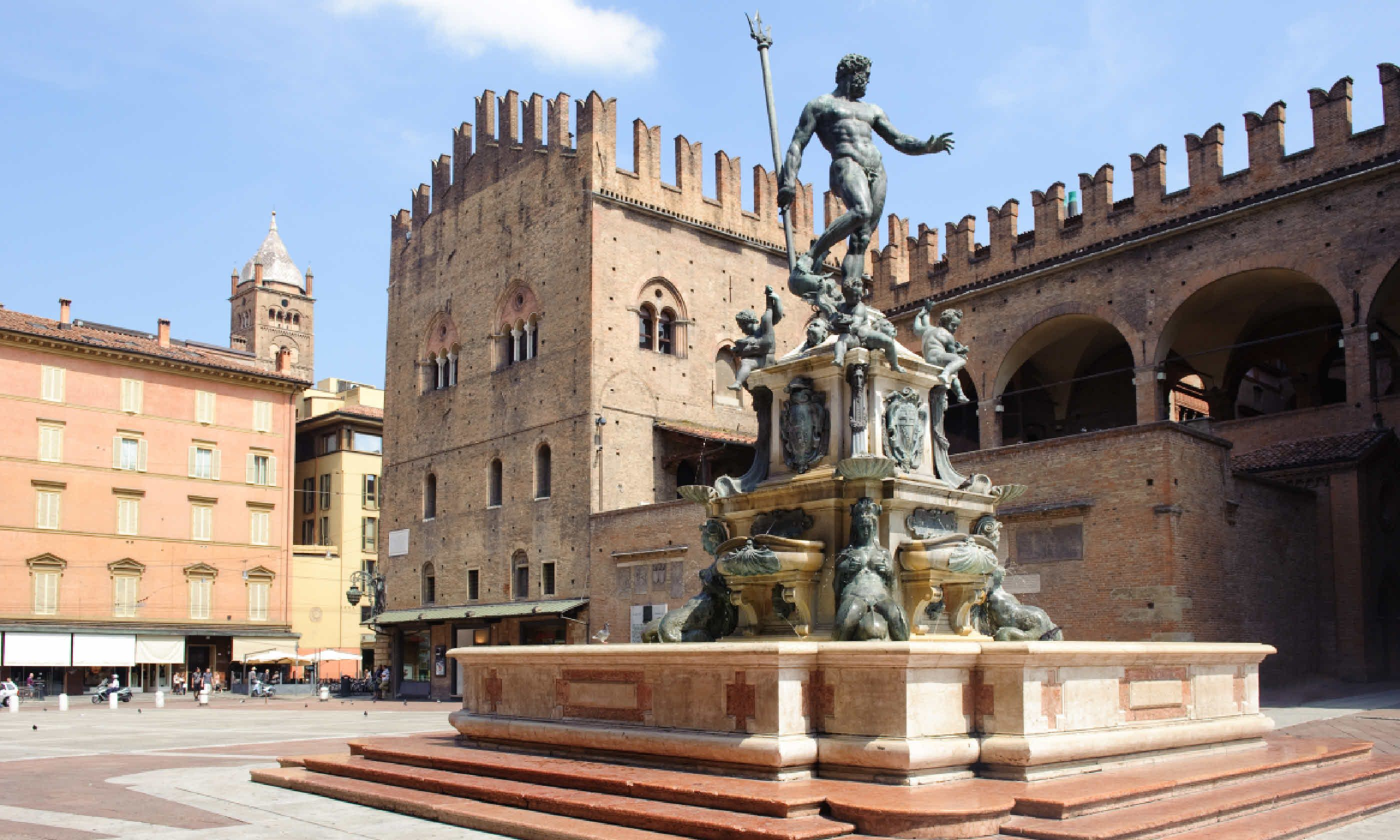 Fountain of Neptune in Bologna (Shutterstock)