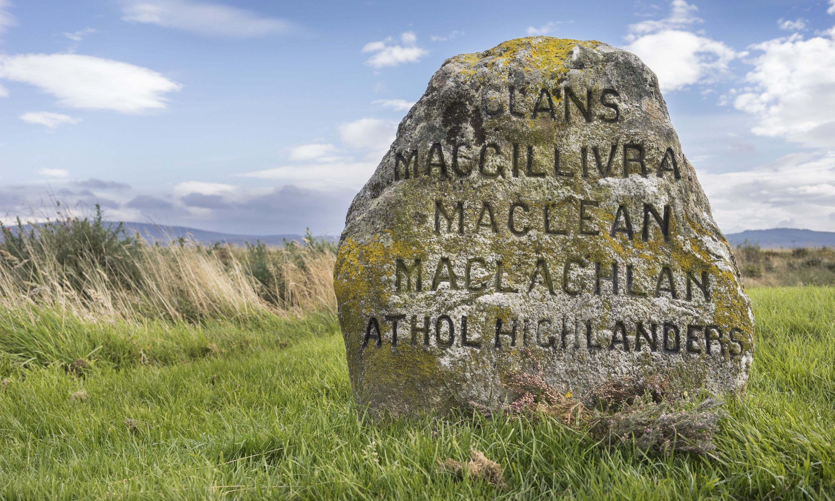 Clan graves on Culloden Moor (Dreamstime)