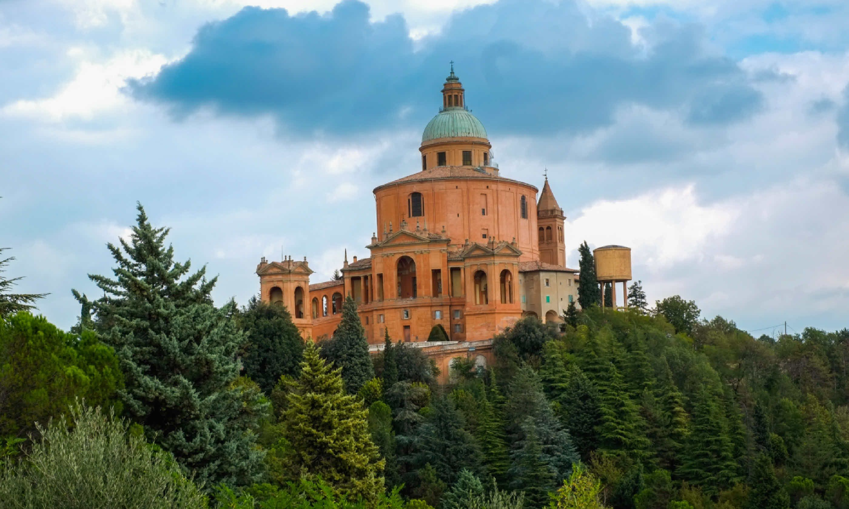 San Luca Sanctuary in Bologna (Shutterstock)