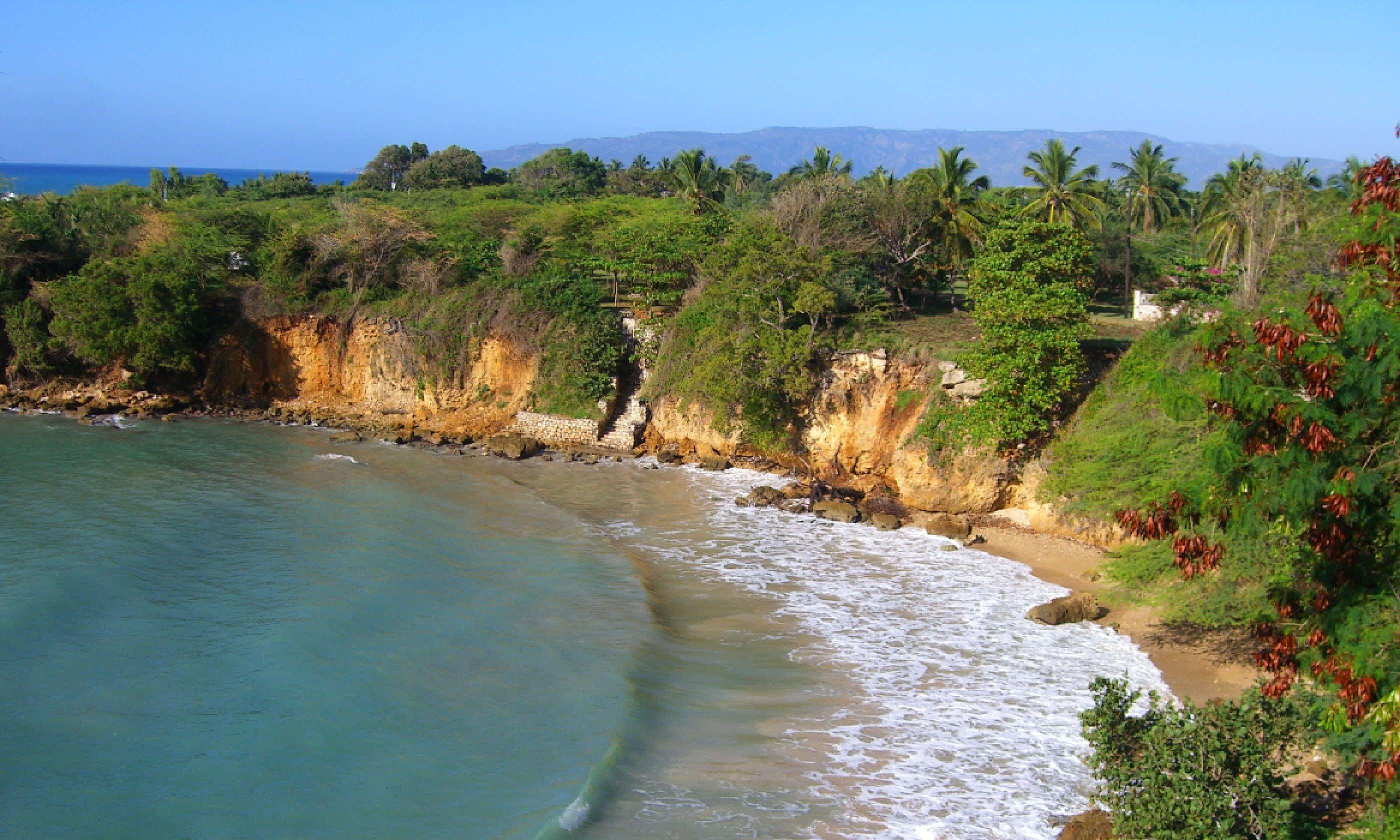 Island cove, Haiti (Shutterstock)