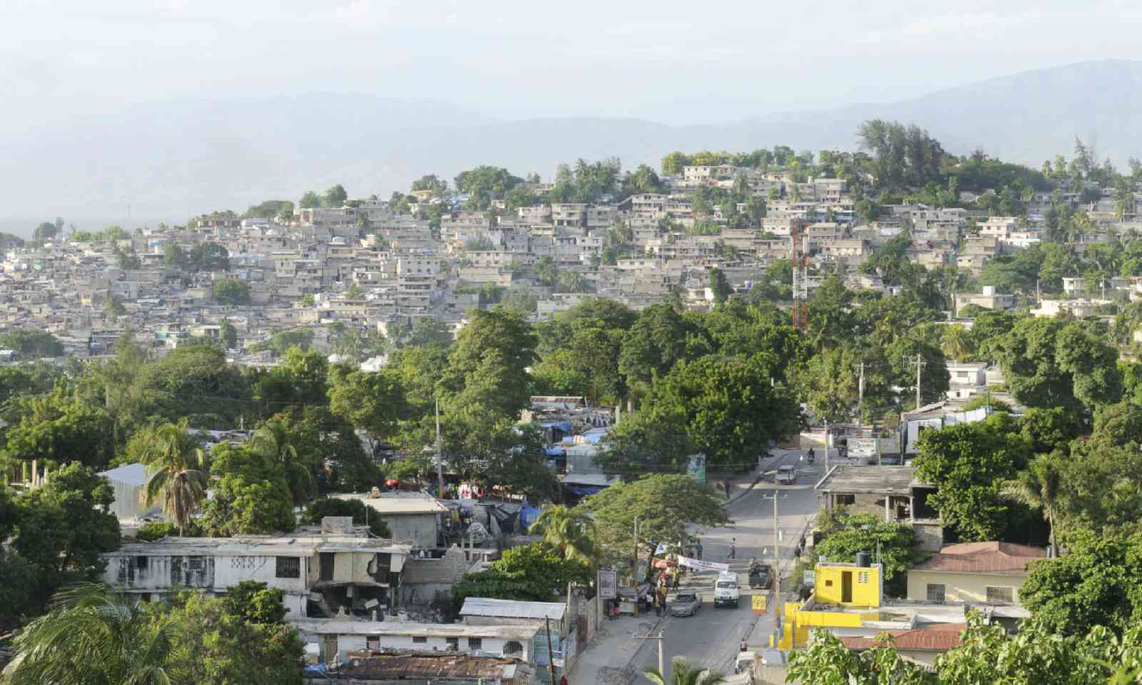 Downtown Port au Prince (Shutterstock)
