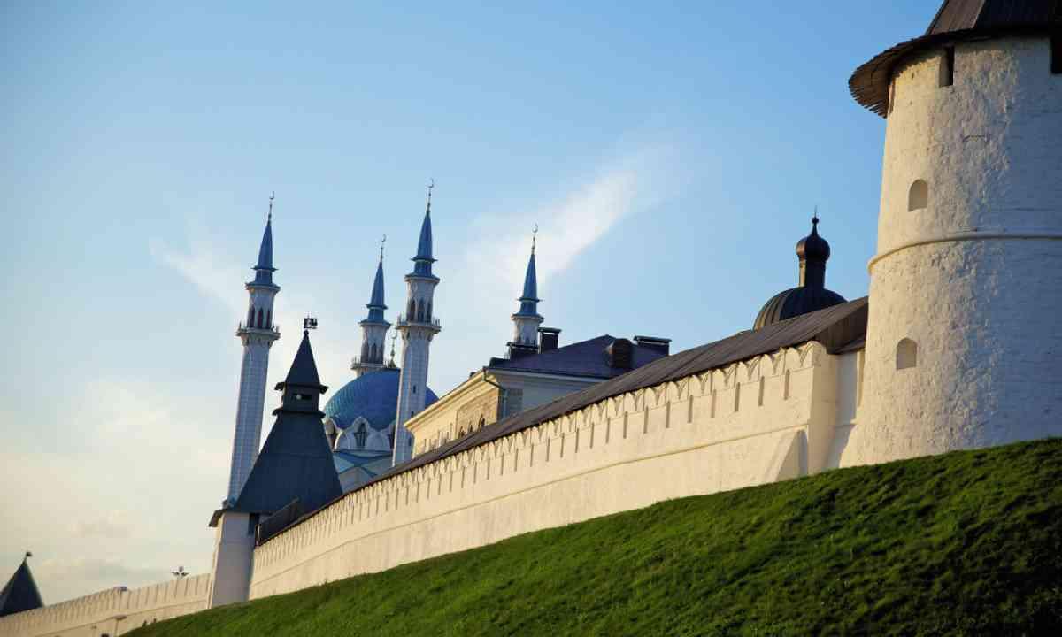 The Kremlin mosque, Tatarstan