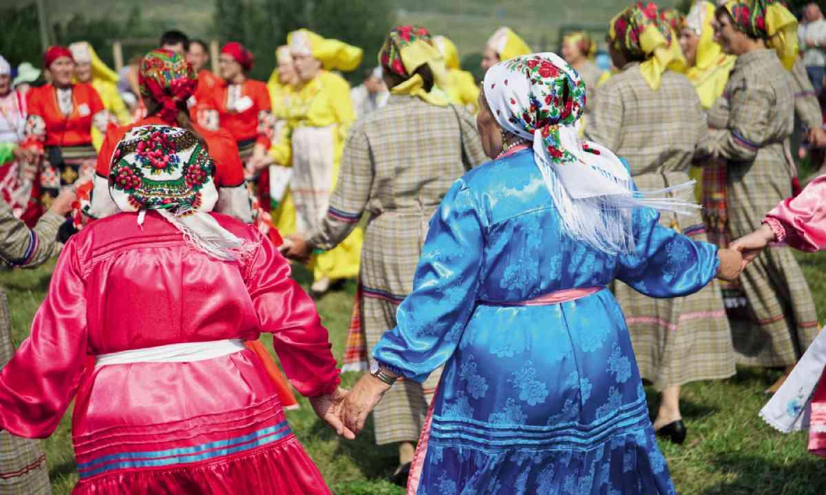 Medovy Spas festival in Udmurtia