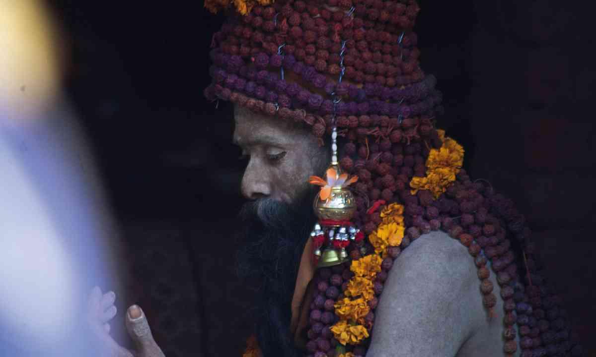 Kumbh Mela sadhu (Mark Stratton)