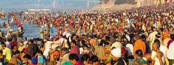 Kumbh Mela, India (Photo: Mark Stratton)