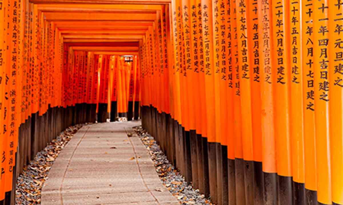 Shrine, Kyoto. (Shutterstock.com)