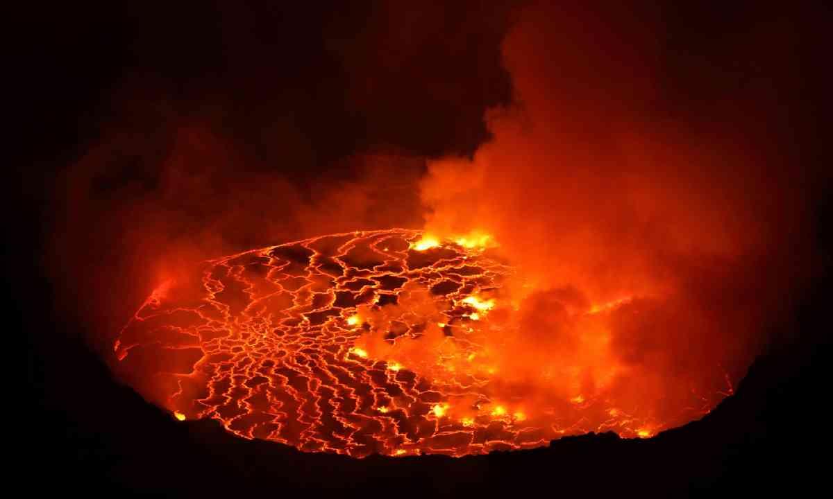 Nyiragongo Volcano, Democratic Republic Congo (Shutterstock)