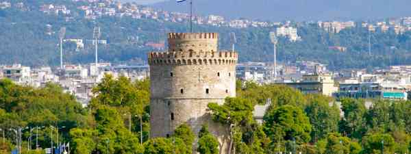 White Tower in Thessaloniki, Greece (Shutterstock: see credit below)