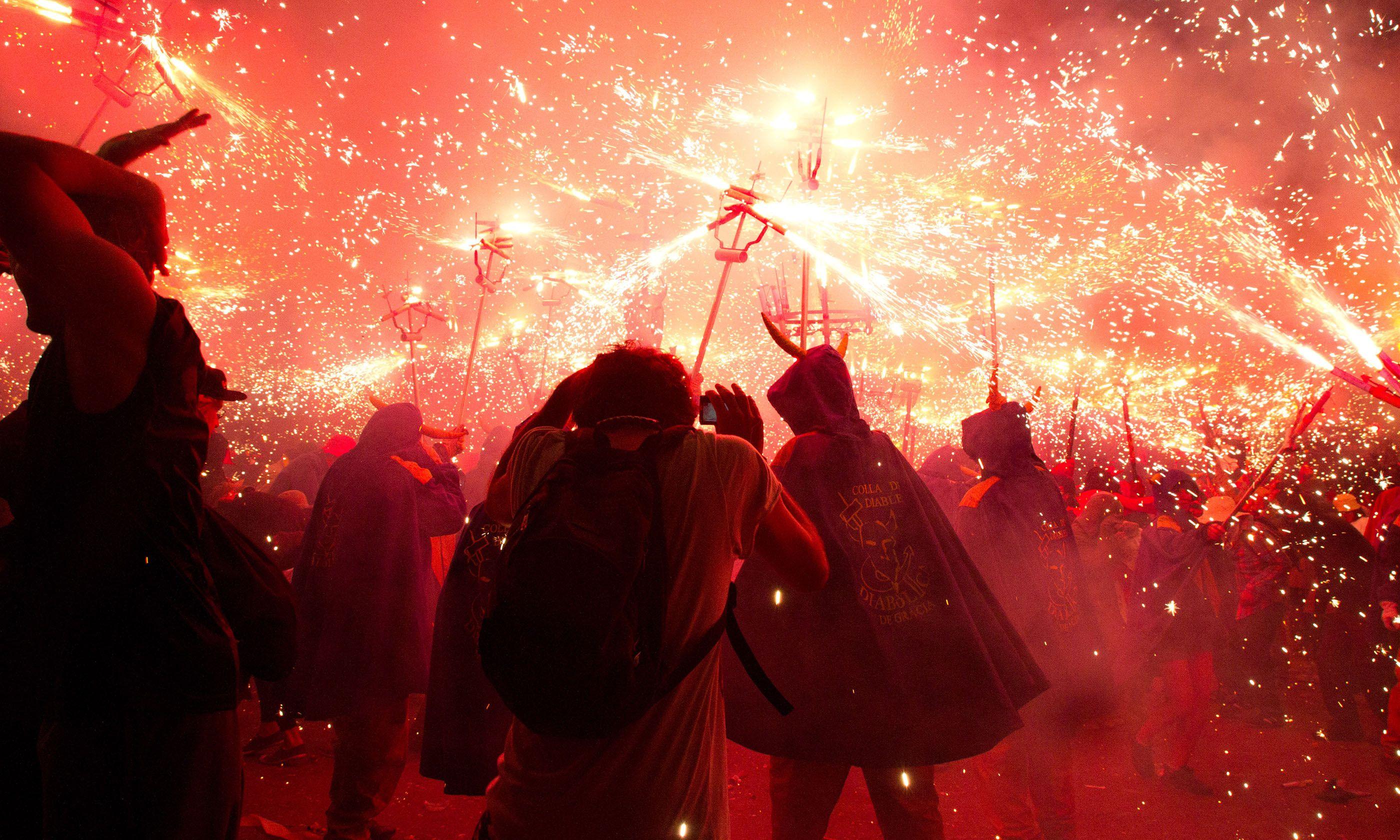 Gracia Festival, Barcelona. From Shutterstock.com.