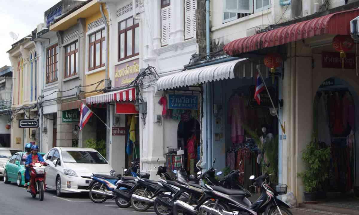 Phuket town (Photo: Emma Higgins)