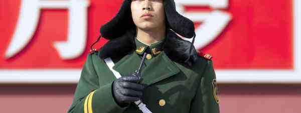 Chinese guard (Dreamstime)