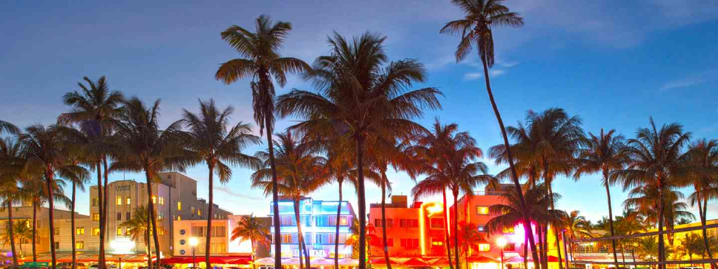 Miami Beach, Florida (Shutterstock: see credit below)