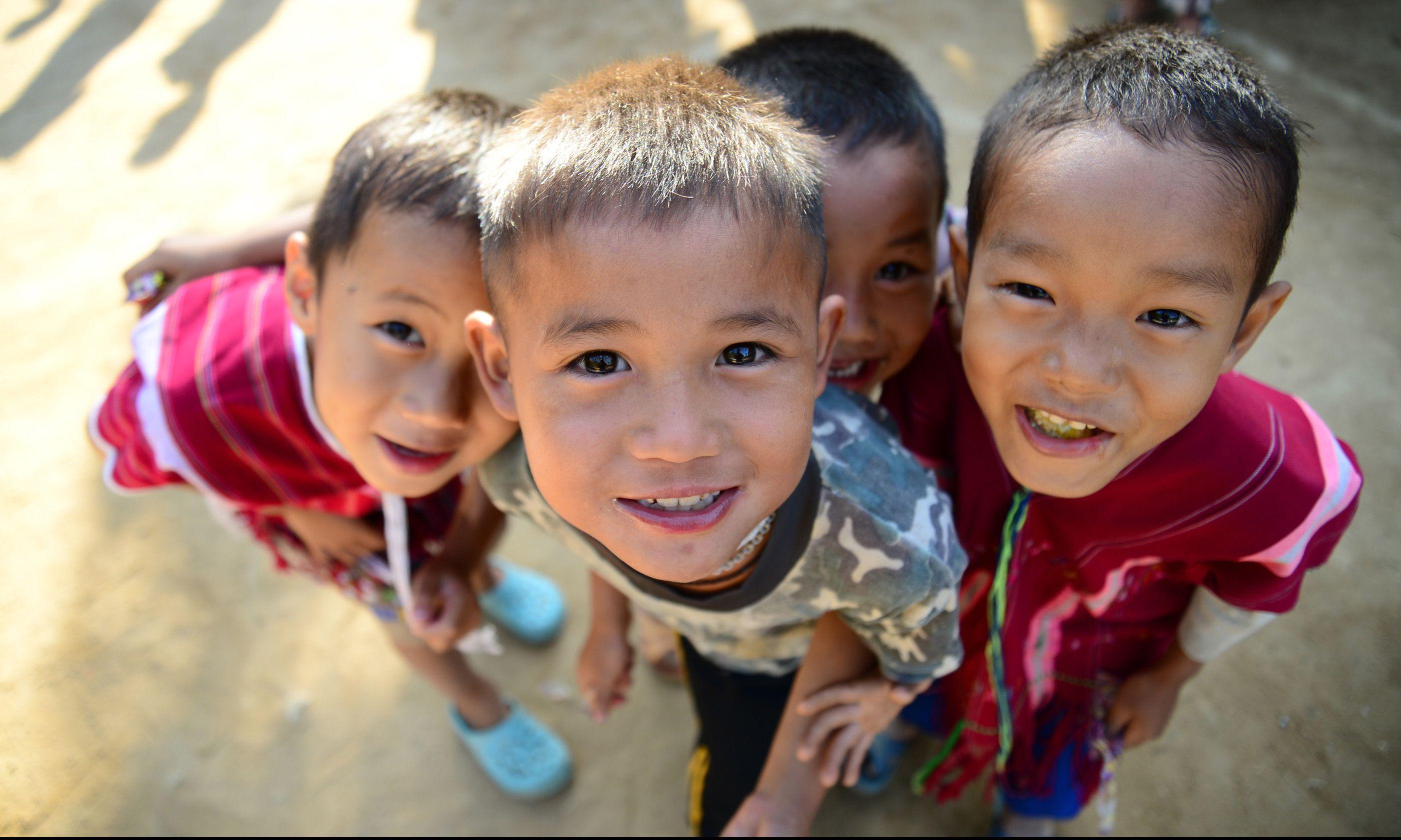 Street kids, Chang Mai (Shutterstock.com)